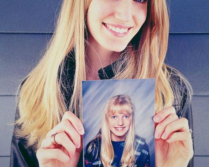 8 Voor- en nafoto's van lelijke tieners