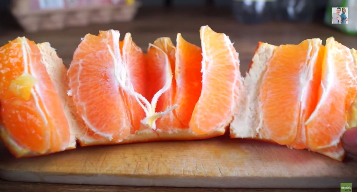 Je hebt je hele leven sinaasappelen verkeerd gepeld.