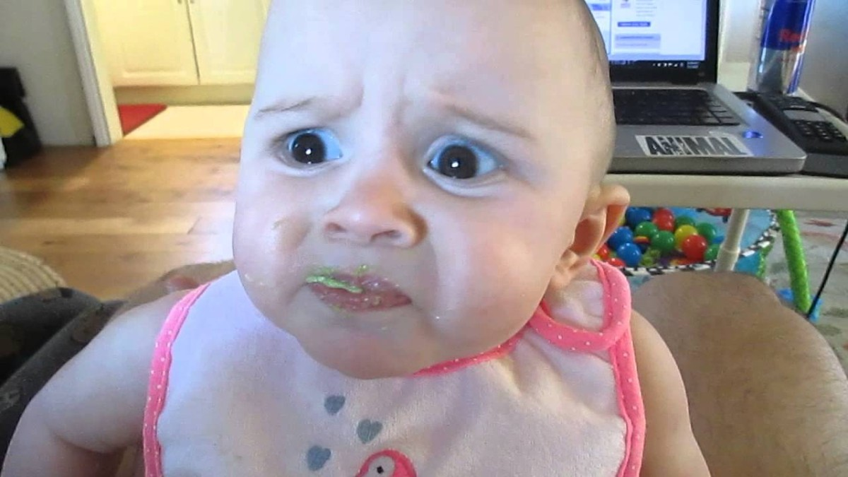 Hou jij van de smaak van avocado? Deze baby denkt er anders over!