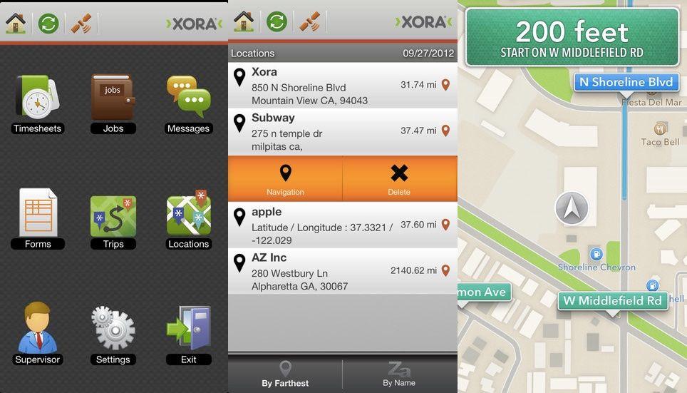 Xora app