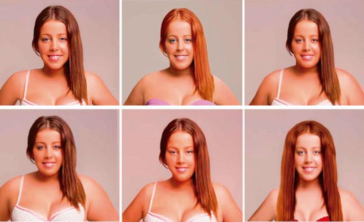 Dit meisje heeft zich laten photoshoppen als 18 verschillende nationaliteiten