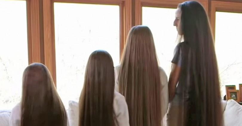 Mama en haar drie dochters zijn nog nooit naar de kapper geweest. Ontdek hier het resultaat.