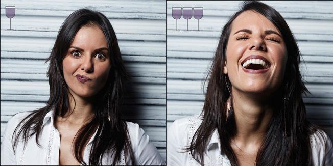 Zo zien mensen er uit voor na een paar glazen wijn