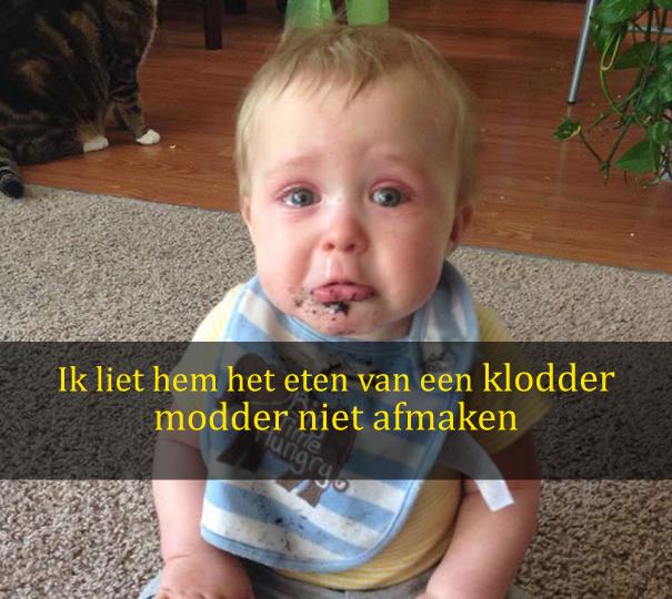 20 meest hilarische redenen voor kinderen om te huilen