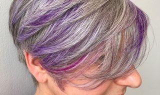 12 prachtige kapsels met grijs, kort haar